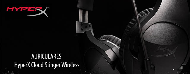 ANÁLISIS HARD-GAMING: Auriculares HyperX Cloud Stinger Wireless Black