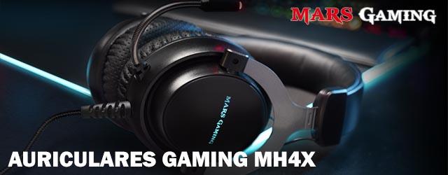 ANÁLISIS HARD-GAMING: Auriculares MarsGaming MH4X